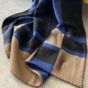 7 colori Addensare Unisex Coperte di Moda Designer Designer Designer Uomo Scialli da donna interni Outdoor Warm Charm Amante Coperta
