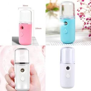 Нанометры распылительные бутылки USB 30 мл танк 250 мАч аккумуляторная влага водоснабжения прибор мини-женщин удерживает портативный увлажнитель 5 25 фунтов