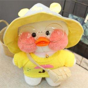 30cm Cartoon Cute LaLafanfan Cafe Duck Plush Toy Stuffed Soft Kawaii Duck Doll Animal Pillow Birthday Gift for Kids Children