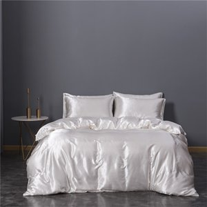 Imitation Silk Bedding Article King Size Bedding Comforter Sets New Three Piece Set Duvet Cover Bedclothes New Arrival 74xn3 K2