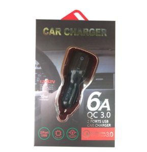 QC3.0 Quick Charge Dual 2 USB Port Fast Car Charger for iPhone Samsung Huawei Tablet