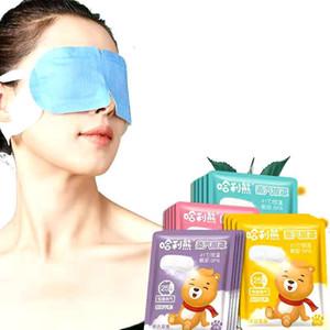 Vente chaude Eye Steam Masque chaud Masque Eyes Fatigue Soulagement Anti-Polforges Tapis de chauffage de soi Vapor 10pcs Masque Spa Cercle Promouvoir la circulation sanguine