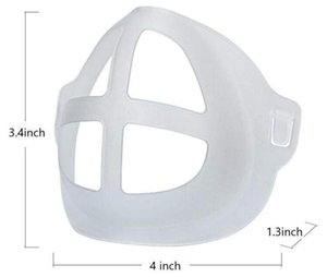 Silicone Mask Bracket Lipstick Protection Stand Mask Inner Support Enhancing Breathing Smoothly Protection Frame Tool Accessory AHC4155