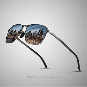 Fashion design men's sunglasses.Polarized sunglasses square full frame sunglasses