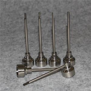 G2 Titanium Carb Cap Tool Domeless Titanium Nail TitaniumTi Nail 14mm 18mm Titanium Dab Tool with Carb Cap Dabber Grade 2