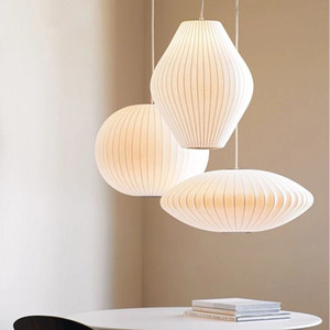 Free Shipping Bubble Lamp Ball Pendant Light White Replica E27 Silk Pendant Lamp Pendant Lighting ems
