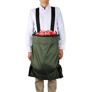 Fruit Picking Bag Vegetable Harvest Apples Berry Garden Picking Bag Garden Apron Sacchetto di raccolta della frutta H99F