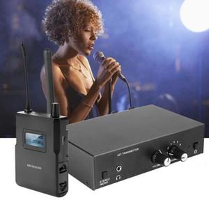 Para Anleon S2 STEREO Sistema inalámbrico Monitor Kit en el monitoreo de la etapa del oído 561-568MHz Conjunto de transmisores y receptor