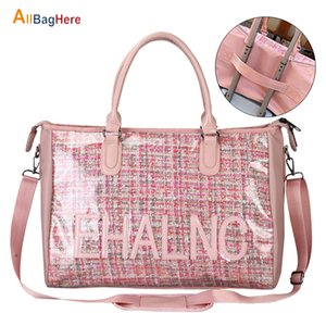 Fashion Sport Gym Yoga Mat Bag Fitness Training Shoulder Crossbody Bags Women High Capacity Waterproof PU Luggage Travel Handbag Z1124