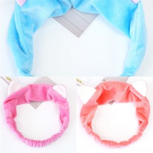3ewU Long for knit headband Flat Bag FashionOccupation Scarf Small Silk Scarf Headband Angle crochet Scarf Gift