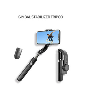 Portable Tripod Mobile Phone Stabilizer Hand-Held Gimbal HOT 3 In 1 Handheld Grip Stabilizer Tripod Selfie Stick Handle