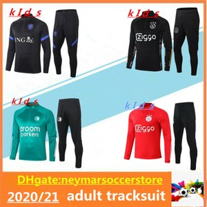20 21 Kids Holanda Feyenoord Fuyenoord Sobrevetimento 2020 2021 Kids Holland Chandal Futbol Sportswear Football Training Suit