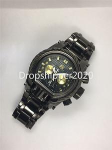 Reloj invicto Casual Moda Calendario Impermeable Multifunción Acero inoxidable Reloj de cuarzo Relógio Masculino
