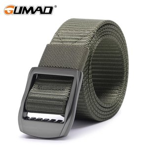 Tactical Belt Military Waist Support Sports Outdoor Hunting Training Ridding Combat Alloy Metal Buckle Army Duty Waistban Men sqcnDH