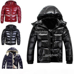Top quality Winter jackets down hooded down jacket women and men pattern down coat mens zippers warm parka outdoor coats 3 style to choose