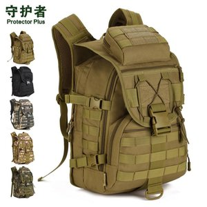 Protector Plus 2020 outdoor fan bag outdoor Backpack Trave shoulder bag camping tactical mountaineering camouflage 40L