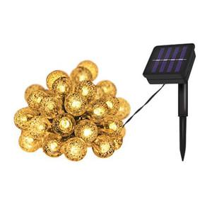 LED solar power outdoor inserted waterproof colorful lights garden garden decorative lights smart light control lights when dark