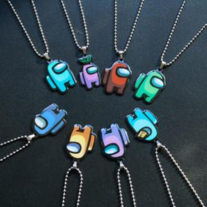 En stock parmi nous Collier de couleur Collier Premium Acier inoxydable PREMIUS Pendentif chaîne pour la stratégie Décontracté Jeux Amants (Chaîne de perle) DHL Free
