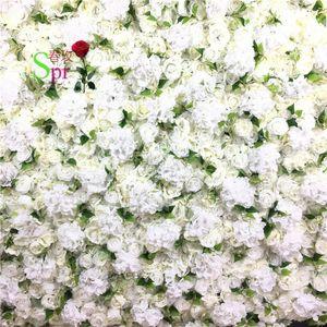 SPR Good Priccheap Of Wedding Decoration Hydrangea With Rose Artificial Silk Flower Wall