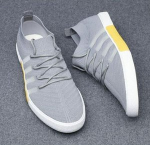 Sports Running Shoes Cloth Men 2020 New Summer Flying Woven Mesh Shoes Trend Wild Men 'S Shoes Breathable Sneakers Fashion Men 2021