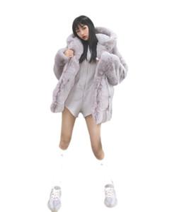 Korean Version of Faux Fur Coat Hoodie Coat Winter Women Faux Fur Teddy Women