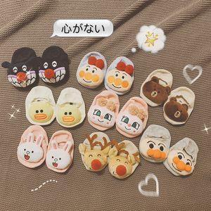 New Autumn And Winter Children's Baby Socks Cute Cartoon Cotton Socks Doll Socks Middle Tube