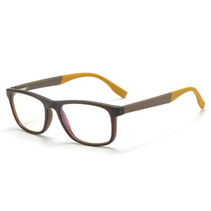 Окружение углеродного волокна TR90 Eyeglasses Рецептурные рамки Мужские смолы объектив с ультразапчастями квадратных оптических очков Myopia