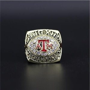 Exquisite New 1998 Texas A&M University Championship ring wholesale holiday fans commemorative birthday gift