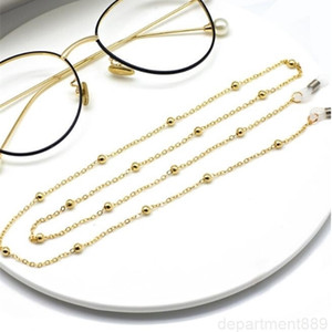 summer unisex Clip bead woman accessories,ladies eyewear neck chain, sunglasses chain free shipping DHA753