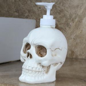 Skull Empty Press Pump Bottle Empty Soap Foam Bottle Pressed Liquid Bottle 350ml Creative Household Products DHL Free