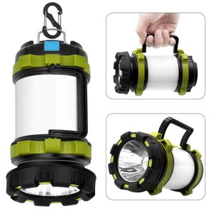 Portable Flashlight Camping Lantern Rechargeable Green Woman Man Small Hanging Tent Lamp Multi Function Outdoors 32 5hs K2
