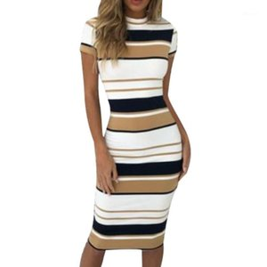 Direct Deal Donne BodyCon Office Lavoro Slim Party Sera Formale Business Midi Pencil Dress1