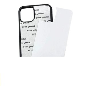 2D Sublimation Hard Plastic DIY Designer Phone Case PC Sublimating Blank Back Cover for iPhone 12 11 XS MAX Samsung Note20 A21