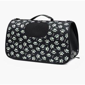 Pet Dog Shoulder Handbag Folding Breathable Mesh Carrier Bag Outdoor Portable Travel Messenger Bags Pocket for Dogs Cats S M L