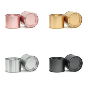 Petits cas Mini Portable Circular Storage Tea Simplicity Boîtes Métal Multif Fonction Adulte Conteneur Cuisine Accessoires 1 5yl K2
