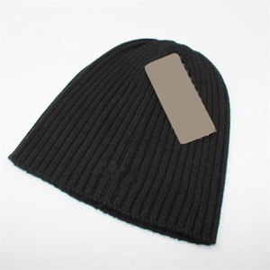 Woollen Knitting Men Women Hat Brand Warm Winter Beanie Designer Street Trends Knitted Hats In 9 Colors