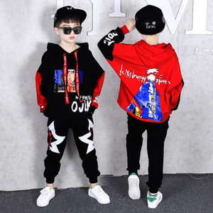 Set Kids Clothing Autumn 2020 Cartoon Hoodies Pants Children Sports Suits Teenage Clothes Boys Tracksuit 6 8 10 12 13 Year