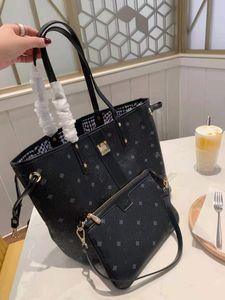 Sacchetto della spesa classico di alta qualità Scopo originale del doppio fiore del fiore della borsa della borsa del bambino della madre della borsa, la borsa piccola è usata da sola.