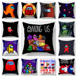 Game Among Us Pillow Case Cover Anime Game Action Figure Prop Cute Cartoon Pillowcase Lumbar Pillow Pillowslip 22 Colors E112606