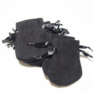 Sostituzione Handmade Black Velvet Sacchetti Borse Adatta per Pandora Braccialetto Bracciale Earmante Orecchini per perline Anello Imballaggio Nuovo Arrivo Vendita calda