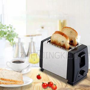 Home Acciaio inossidabile Pane Maker Macchina Tostapane Double Slot Automatic Breakfast Toast Tools Cucina Cucina Appliances1