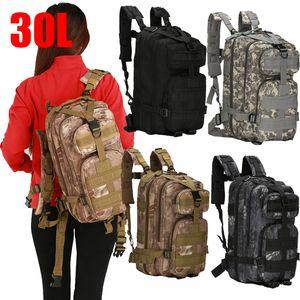 Outdoor Military Rucksacks 600D Nylon 30L Waterproof Tactical backpack Sports Camping Hiking Trekking Hunting Outdoor Bags#g4 LJ201124