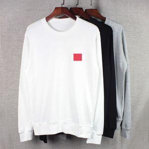 20fw hoodies erkekler için sonbahar erkek hoodie kazak gevşek stil moda gelgit kış ceket kazak homme giyim ile kalp nakış