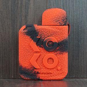 KOKO Prime Silicone Case Rubber Colorful Sleeve Protective Cover Skin For Uwell Caliburn KOKO 2 Pod System Cartridge Kit Mod Vape DHL