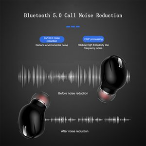 New Design X9 Mini 5.0 Bluetooth Earphone Sport Gaming Headset with Mic Wireless headphones Handsfree Stereo Earbuds For Xiaomi All Phones