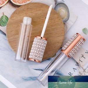 5ml rose gold Round Lip Gloss Tubes Clear Empty Lip Gloss Containers lipgloss Bottles Cosmetic DIY pearl diamond lipgloss tube