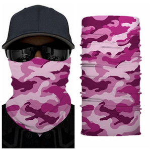 Magic Scarf Windproof Easy Clean Cloth Mask Windproof Outdoor Camouflage Cloth Bandana Sports Men Adult Headscarf Face Mask