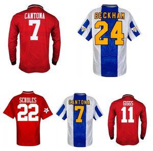 1994 1995 1996 Beckham Scholes Keane Giggs Retro Fussball Fussball 94 95 96 Ince Irwin Cole Hughes Vintage Classic Home 3rd Football Shirt