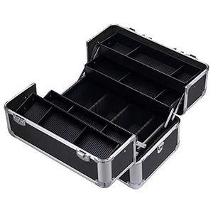 Makeup Train Case Professional Large Artist Organizer Kit Shoulder Bag With Adjustable Dividers Key Lock Cosmetic Studio box Z1123