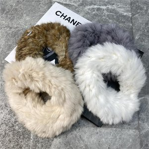2020 new fashion casual adult clothing women's clothing hair with headdress hat warm headband hat fur Headcover